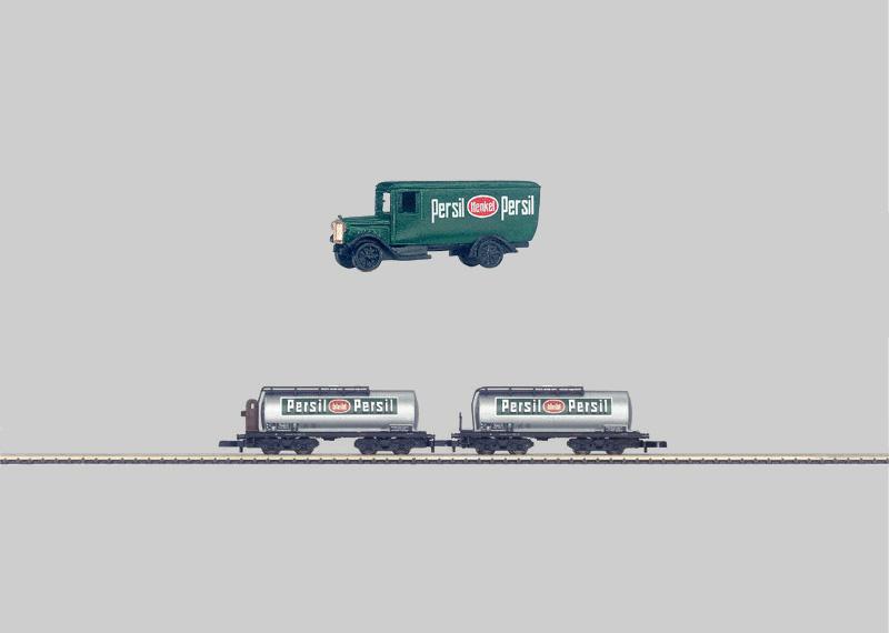 Kesselwagen-Set.