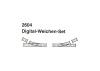 Digital-Weichenpaar M-Gleis