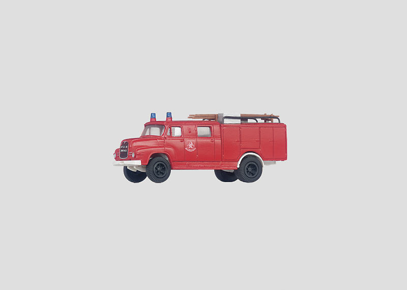 Feuerwehr-Einsatzfahrzeug.