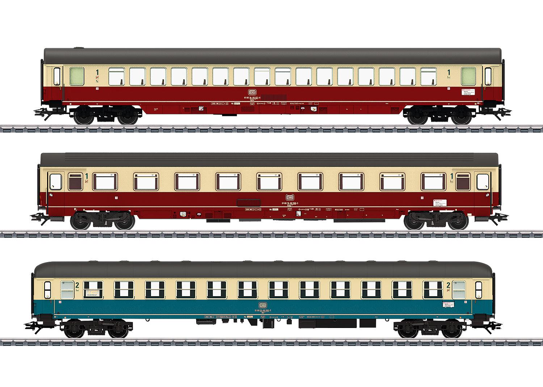 IC-Schnellzugwagen-Set