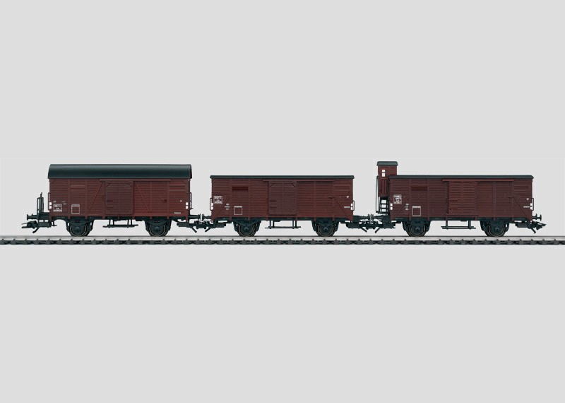 French Freight Car Set.