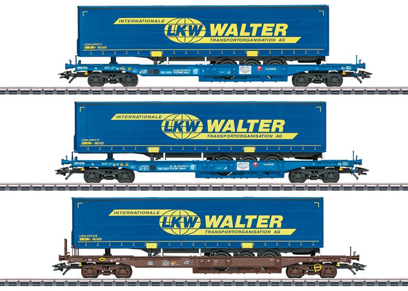 Set diepladers LKW Walter