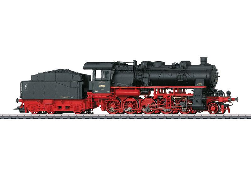 Class 58.10-21 Freight Steam Locomotive