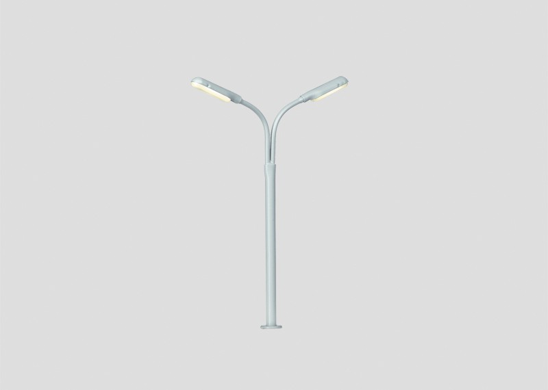 Double Curved Streetlight