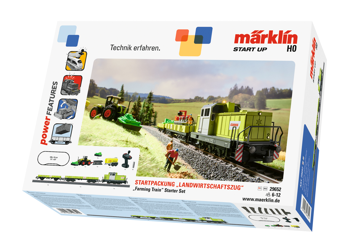 "Märklin Start up - ""Farming Train"" Starter Set"