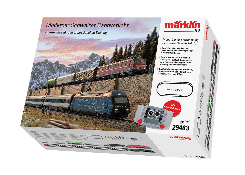 "Digitale Mega-Startpackung ""Schweizer Bahnverkehr"" 230 Volt"