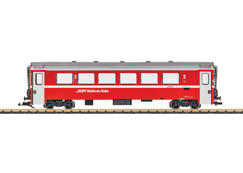 RhB Mark IV Express Train Passenger Car, 2nd Class
