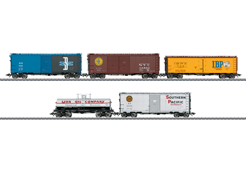 American Freight Car Set
