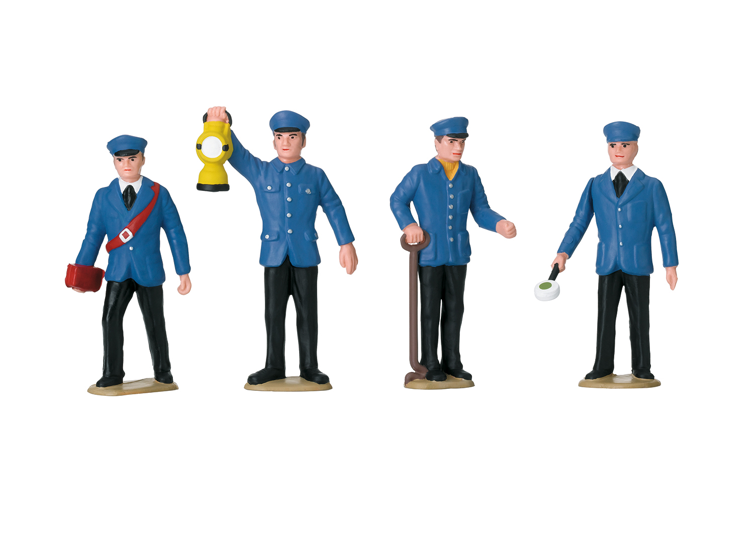 Set of Figures for Railroad Workers in Germany