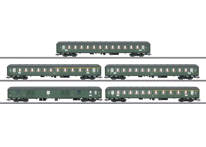 Express Train Passenger Car Set for D 360 Express Train