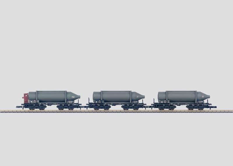 Carbid-Flaschenwagen-Set.