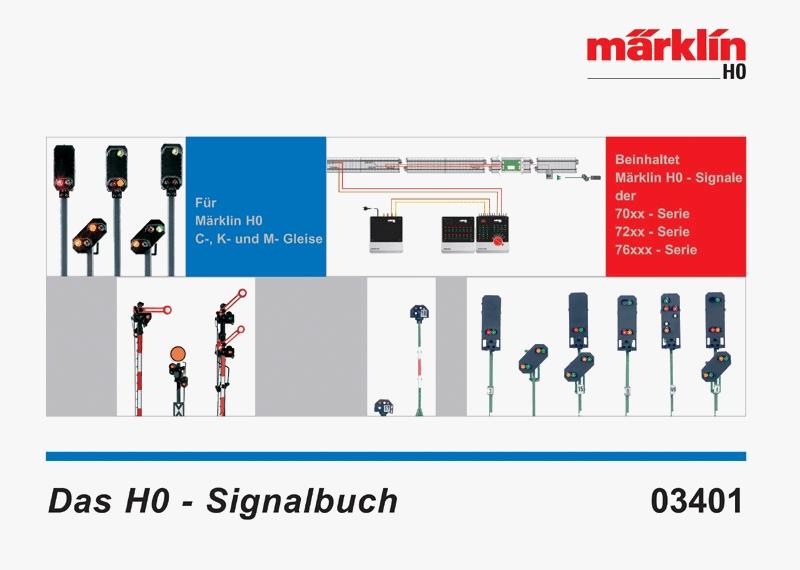 Märklin Signal Book. English Edition.