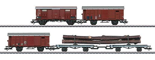 Güterwagen-Set zur Dampflok C 5/6
