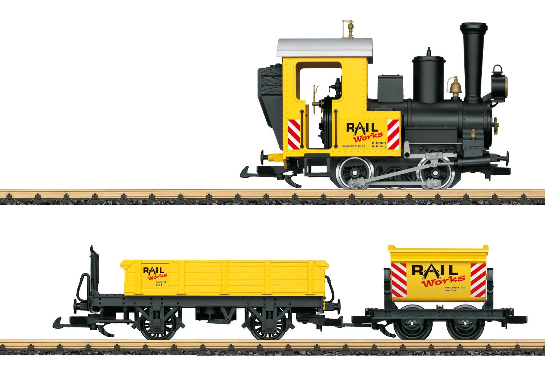 Construction Site Train Starter Set. 120 Volts