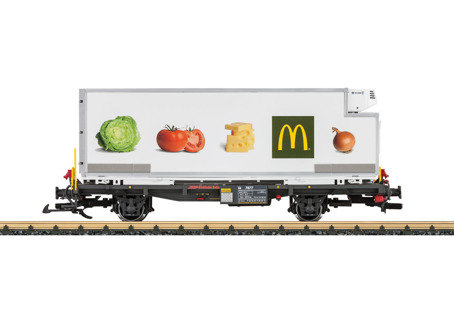 rhb mcdonald u0026 39 s container car
