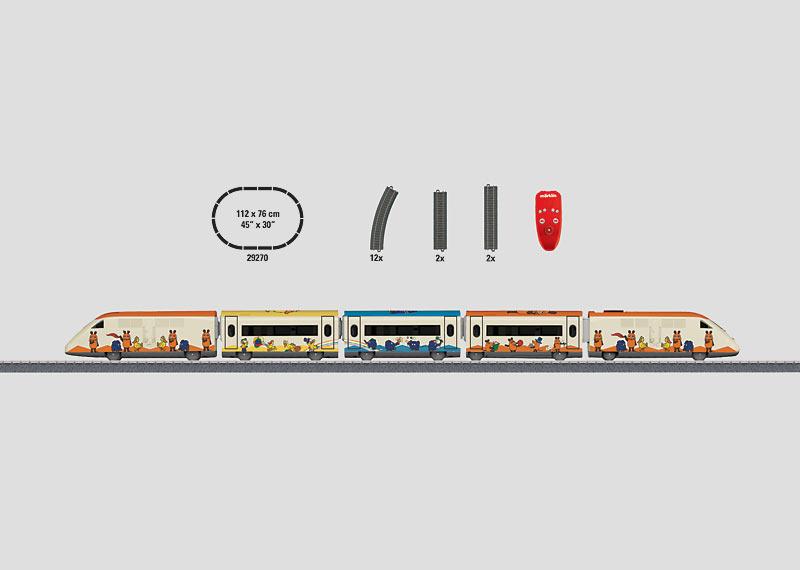 """""""Mauszug / Mouse Train"""" Starter Set."""