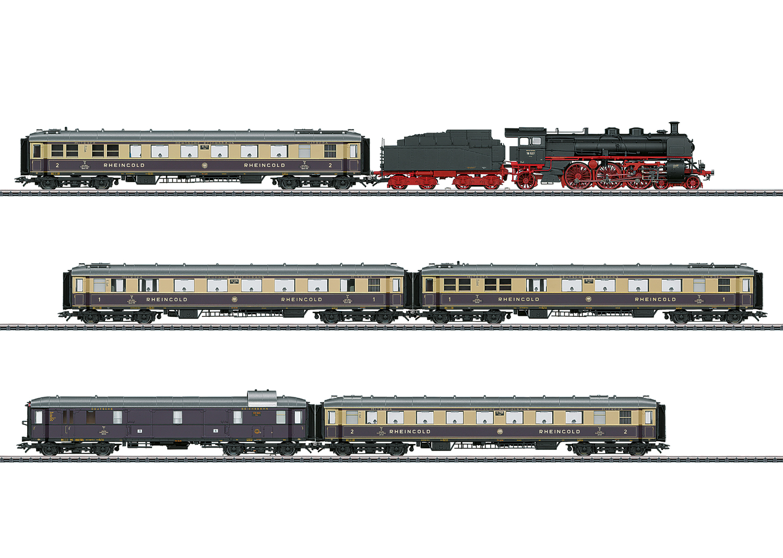 """1928 Rheingold"" Train Set"