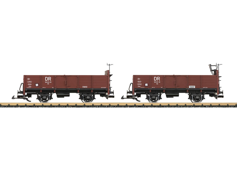 Wagenpaar offene Güterwagen