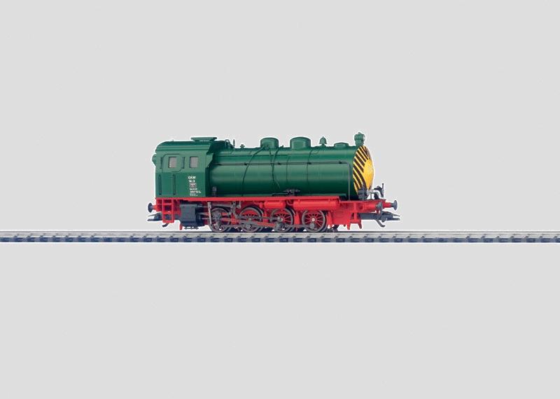 Dampfspeicherlokomotive.
