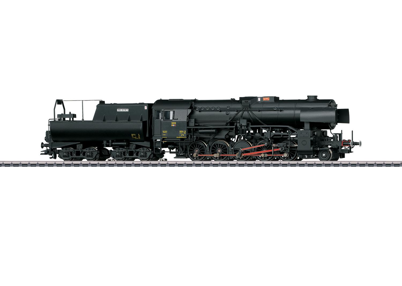 Dampflokomotive Reihe 5519