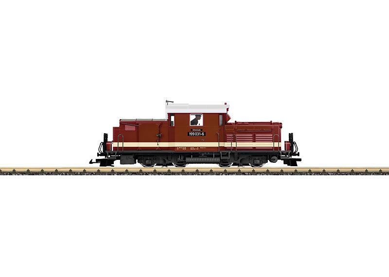 Döllnitz Railroad Diesel Locomotive, Road Number 199 031-6