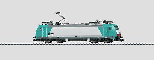 Elektrische locomotief.