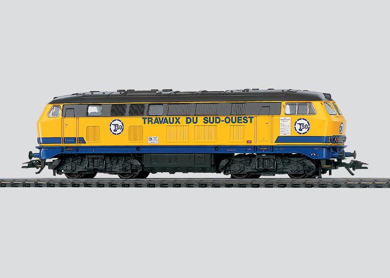 Dieselhydraulische Lokomotive