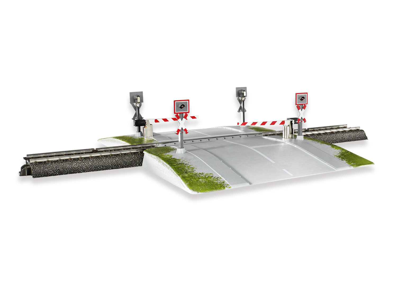 Fully Automatic Railroad Grade Crossing