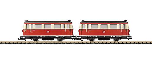 DR Triebwagen und Steuerwagen VT 133