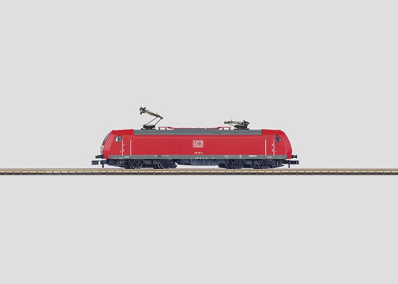 Güterzug-Elektrolokomotive.