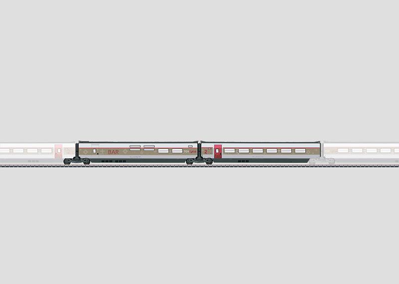 Add-On Car Set 3 for the TGV Lyria.