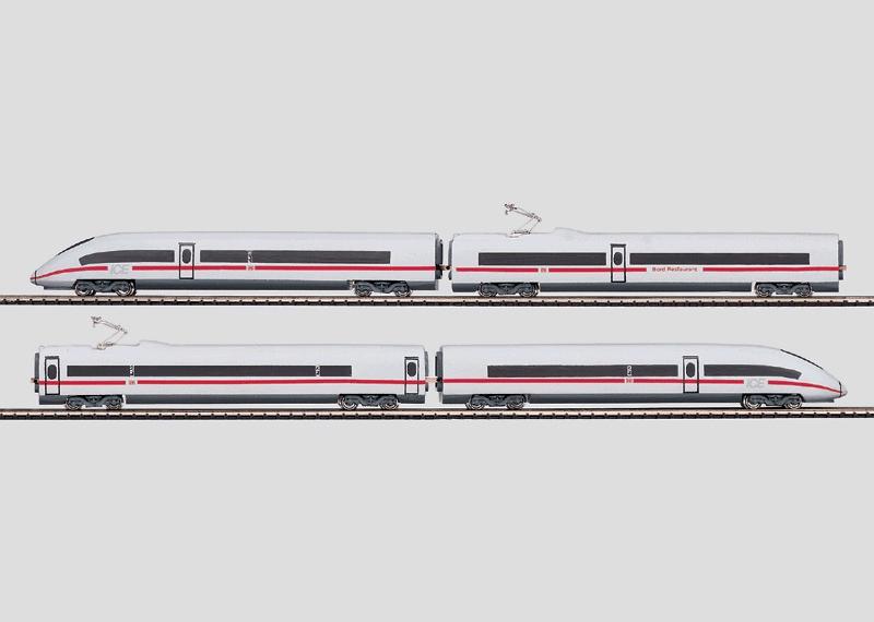 Powered Rail Car Train.