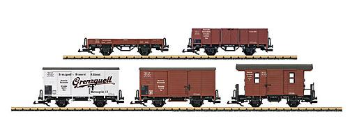 Güterwagenset DRG