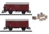 """Güterwagen-Set """"Tee"""""""