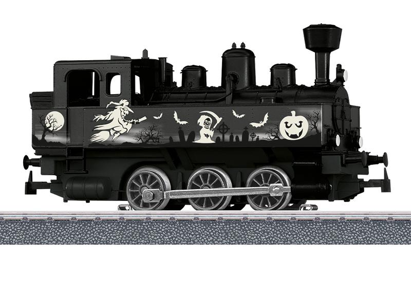 Märklin Start up - Locomotive à vapeur Halloween - Glow in the Dark