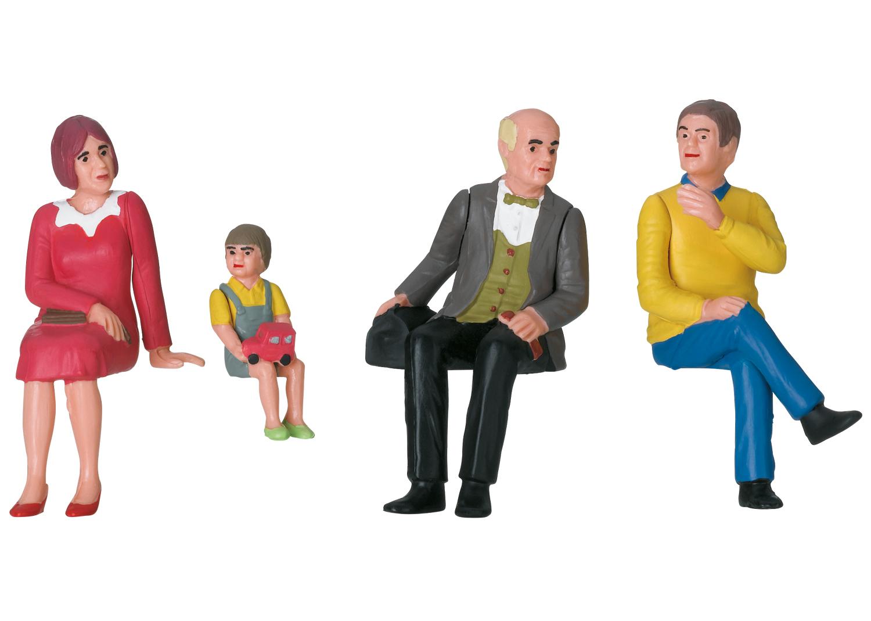 Set of Nostalgic Figures