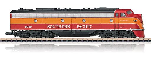 Locomotive diesel-électrique US E9A