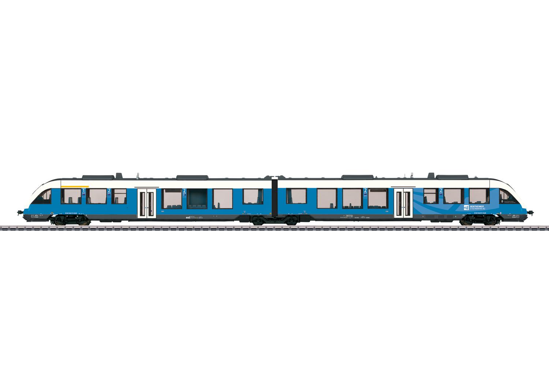 LINT 41 Diesel Powered Commuter Rail Car