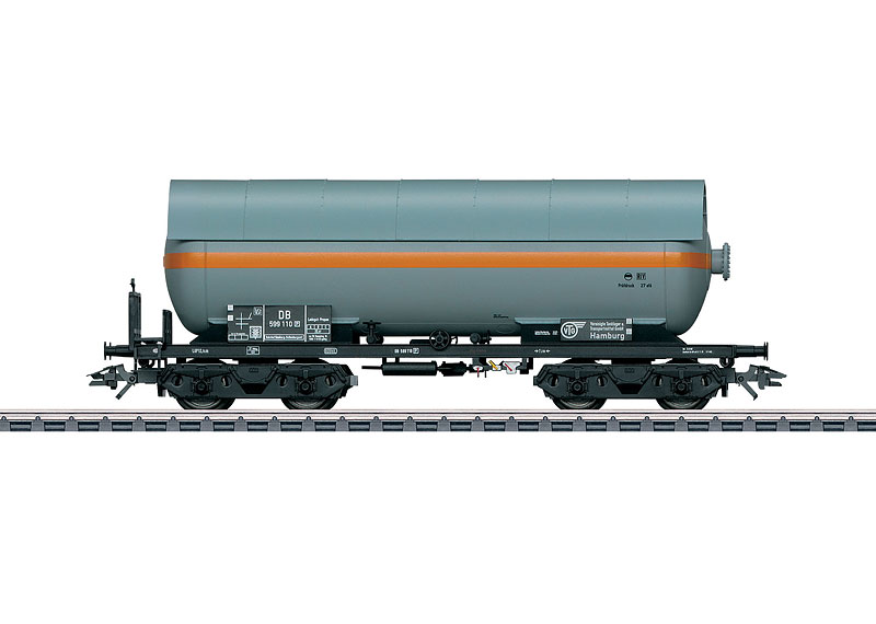 Pressurized Gas Tank Car