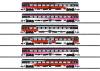 ICRm Express Train Passenger Car Set