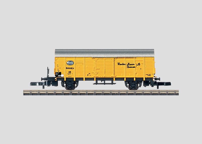 High Capacity Boxcar with a Brakeman's Platform.