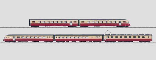 """Train automoteur électrique """"Gottardo""""."""
