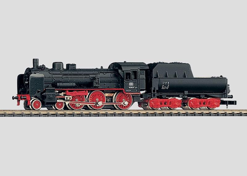 Passenger Locomotive with Tender.