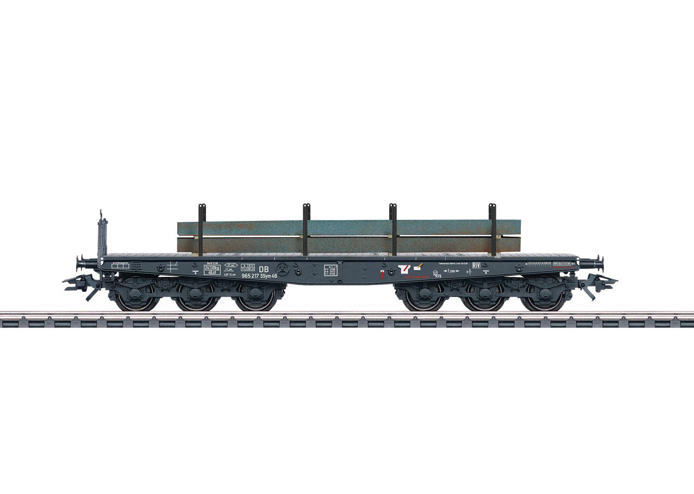 Schwerlast-Flachwagen Ssym 46 mit Brammen