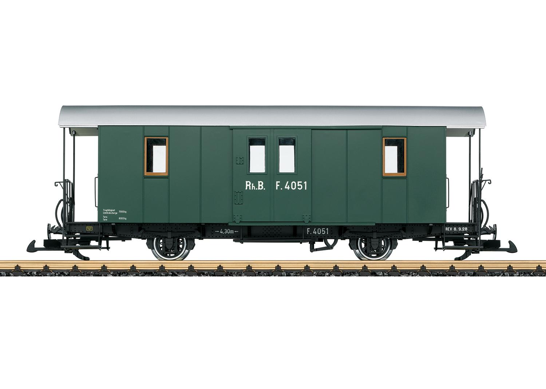 RhB Baggage Car, Car Number F 4051
