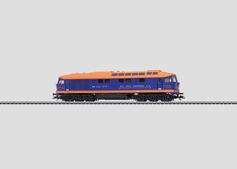 Schwere Diesellokomotive.