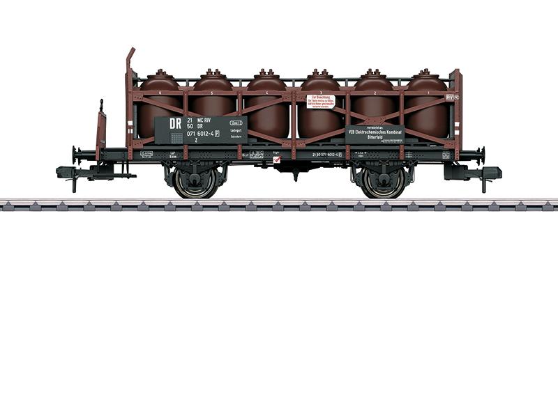 """Wagon-jarre pour le transport d'acide """"VEB ECK Bitterfeld"""""""
