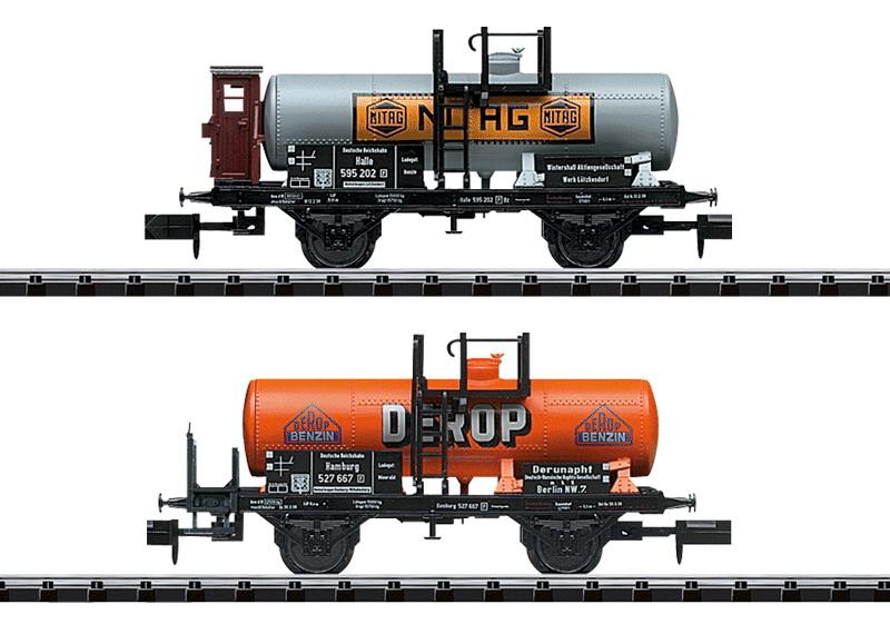 """Güterwagen-Set """"Mineralöltransport"""""""