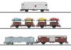 Güterwagen-Set zum Rangier-Krokodil Ce 6/8 II