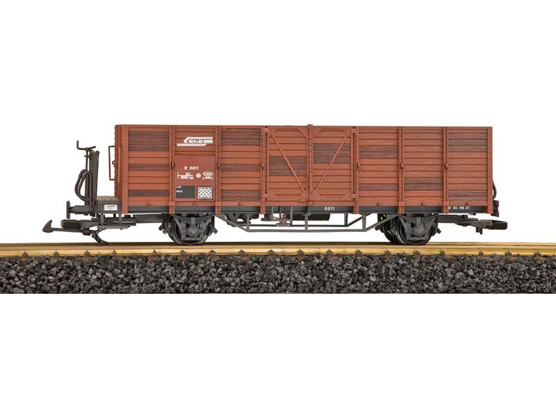 RhB Hochbordwagen, gealtert E6611